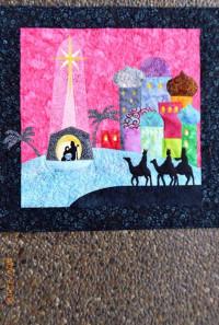 Bethlehem Batiksw/ Nativity Laser Cutouts - Product Image