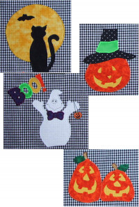 HalloweenApplique - Product Image