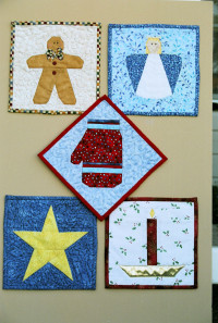 More Paper Pieced Potholders - Product Image