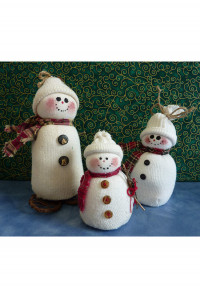SockSnowman - Product Image
