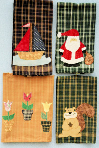 Tea TowelsSeasons - Product Image
