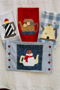 Tea-riffic Applique - Product Image