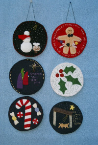 Wool FeltOrnaments - Product Image